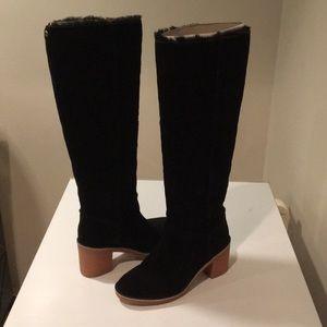 🎁New Ugg Kasen knee high black tall boots Sz 5.5